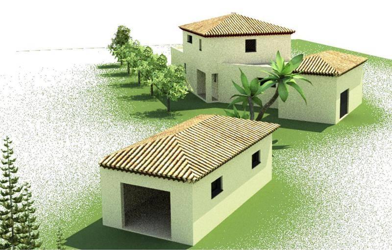 Construction maison tage contemporaine la crau for Constructeur maison toulon
